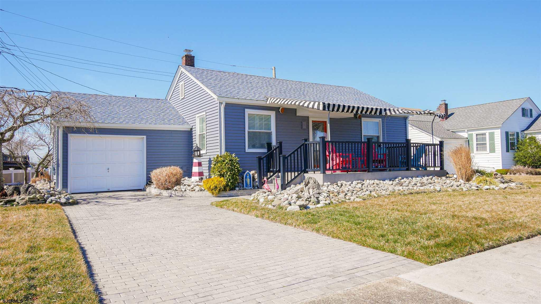 Immaculate, newly renovated rancher located on a nice sized corner lot in Ventnor.  This 3 bedroom,