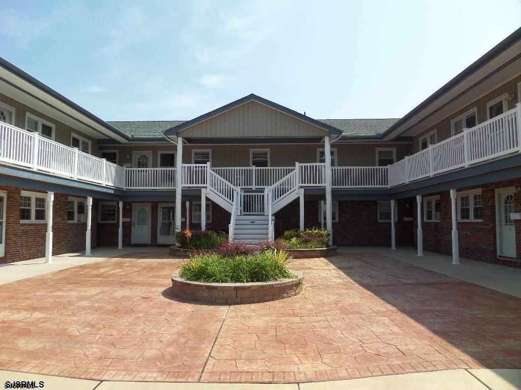 Nice Ocean Elevaen  2 bedroom Condo located in  the heart of Brigantine and one short block to the b