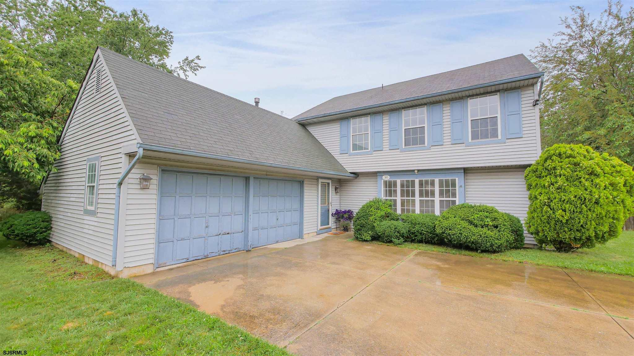 Location! Location! Location! Hurry up and check out this 3 bedroom two and half bath home with an i