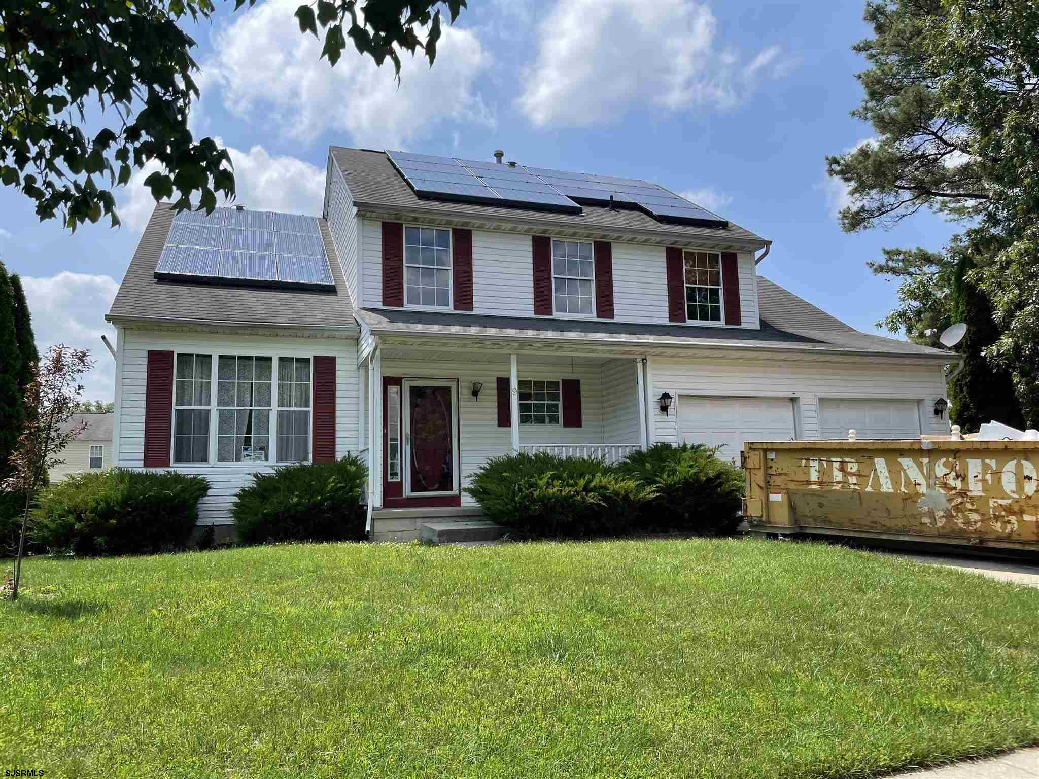 Nice, two story home in Egg Harbor Township needing some TLC to make it yours! This 3 bedroom 2 1/2