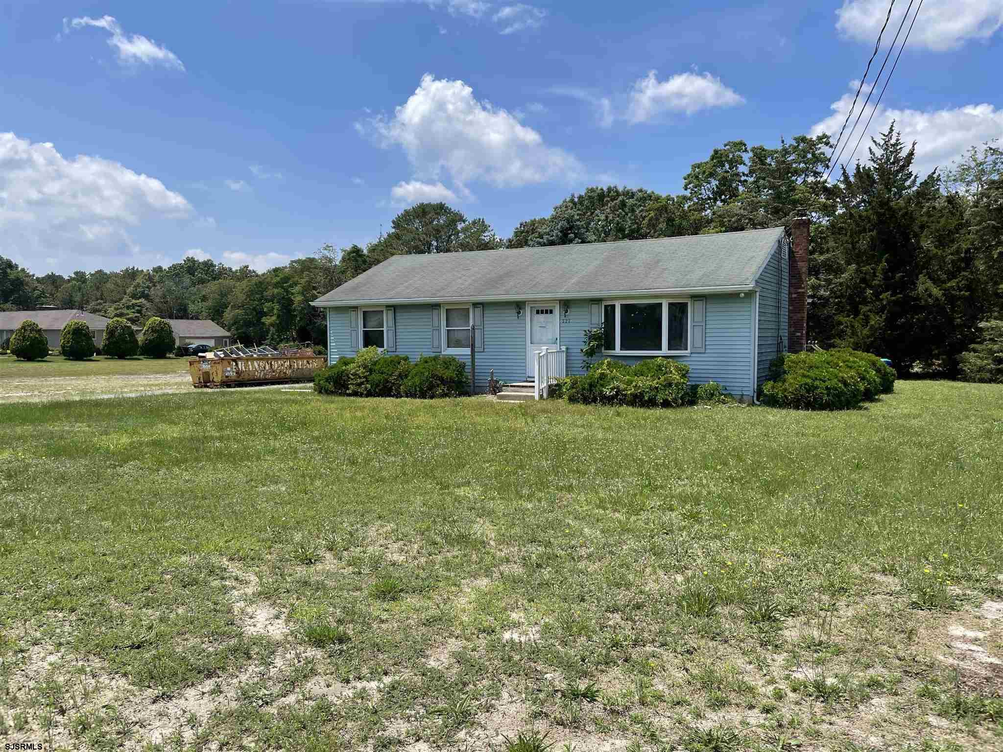 Charming rancher located in wonderful Hammonton. House features 3 bedrooms and one bath. Full baseme