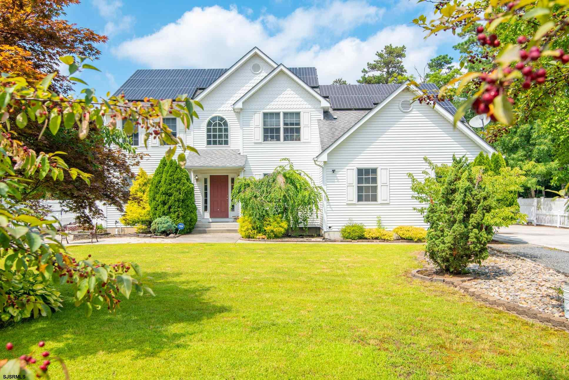 This Custom Built Home with beautiful landscape, 6 Bedrooms and 4 full baths; finished basement and