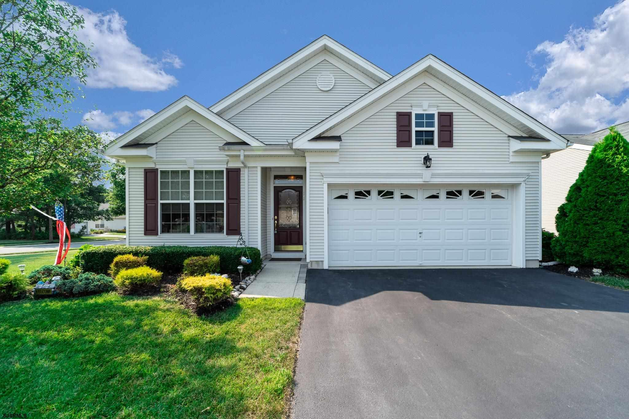 Welcome home!!  This beautiful three bedroom Burnham model is a MUST SEE.  As soon as you enter the