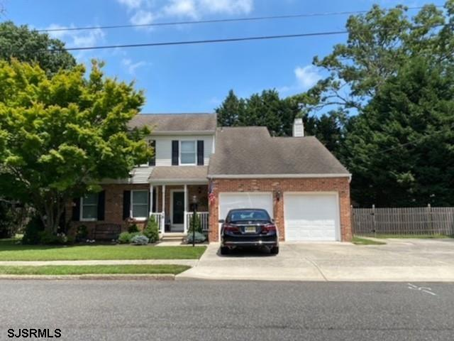 One of the most desirable locations in Somers Point!  Views of the golf course, quiet street. Large