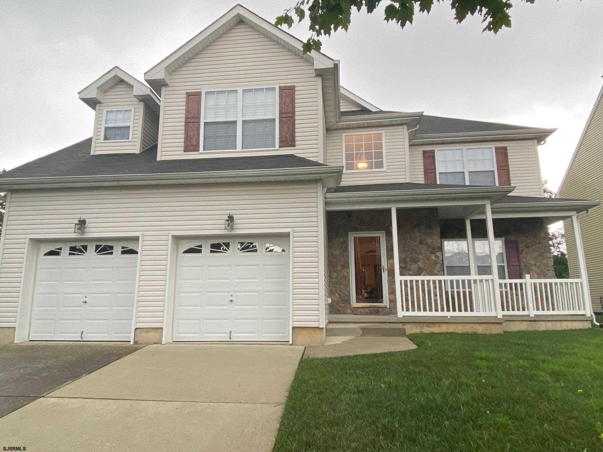 Welcome to this Spacious 5 bedroom 2.5 Bath, Center Hall Colonial facing East. Built in 2003, being