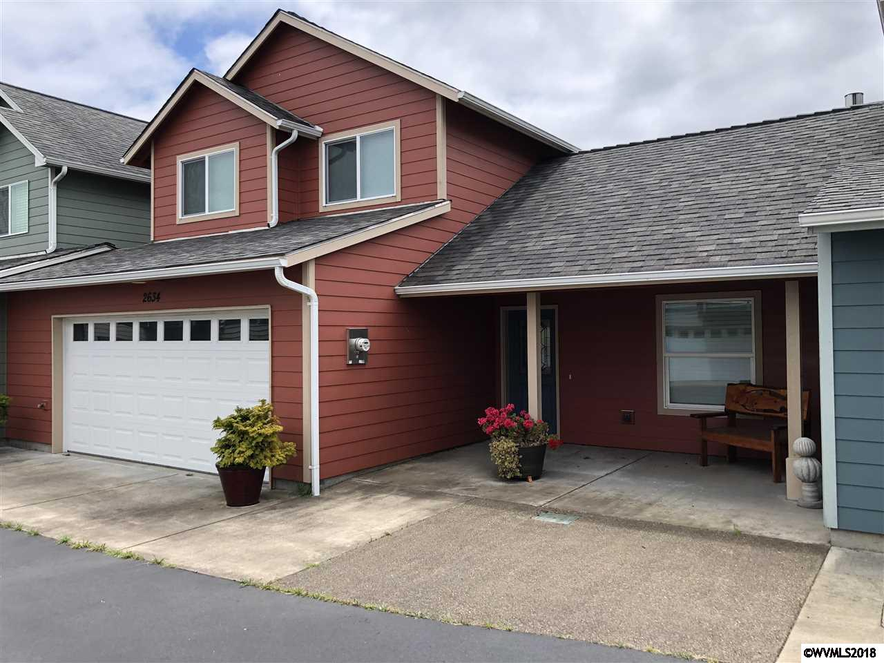 Newport Oregon Real Estate 2634 Sw Brant Playa Del Sur Towhnouseii