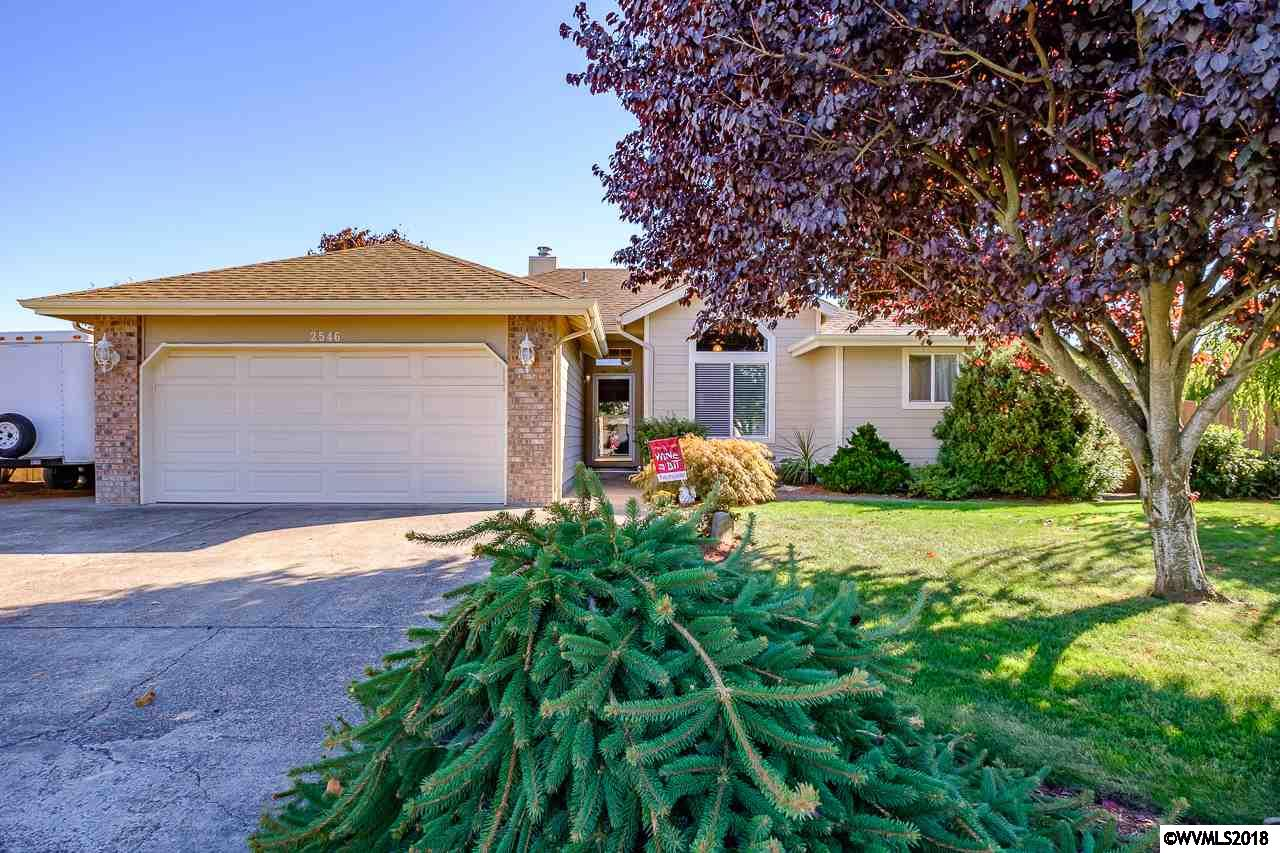 Stop Searching… it's All Right Here! This Beautiful 3 bedroom, 2. bath, 1412 sq ft home located in a quiet Deerfield neighborhood offers so many extras and upgrades! With newer siding, new roof in 2017, gas fire place in living room, newer counter tops in kitchen with granite sink, gas forced air w central a/c, & much much more! Private back yard, garden area, covered extended patio and new fencing. RV Parking & 2 car garage.  Just too much to mention.  Come see for yourself. Schedule an appt. today