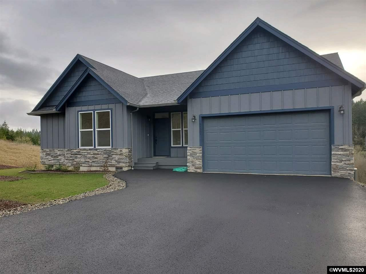"Great views from this brand new CUSTOM 4 bd, 2.5 ba home on 2.46 acres in upscale Wren Hill Estates just 15 min to dwntwn Corvallis & 40 to the coast! Bright great room floor plan w/vaulted ceilings, 13 ft marble fireplace, & master on main. Large kitchen w/island, new appliances & high end natural quartz & marble finishes. Master suite w/soaker tub, spa shower & roomy closet. ""Smart"" home w/ double insulation, UV water filter, & 'lots of room to build a shop & customize. Miles of trails and forests."