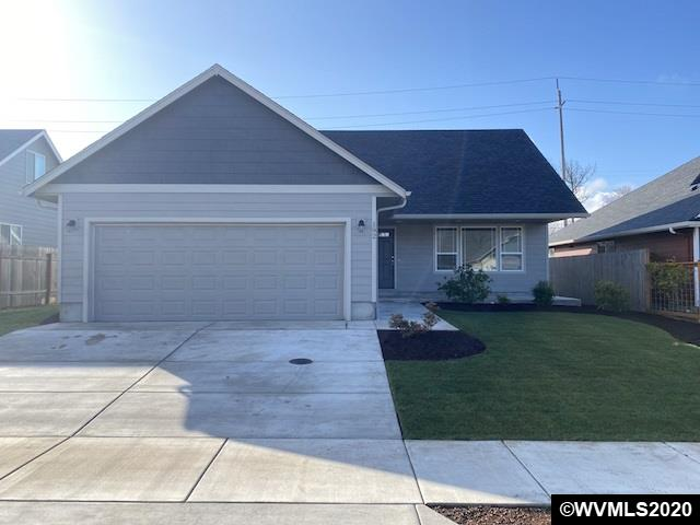 Renovation complete! Property features fresh paint, new laminate flooring, and main level master suite. Offers spacious kitchen with island and gas range, and covered front porch. One year home warranty provided by the seller.
