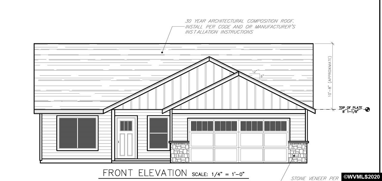 All offers and inquiries to the builder for this new 4 bed home with a country side setting. New subdivision North of Albany with easy i-5 access. Huge yard, corner lot, choose your colors, or a similar, or larger home in the neighborhood.Home is new construction