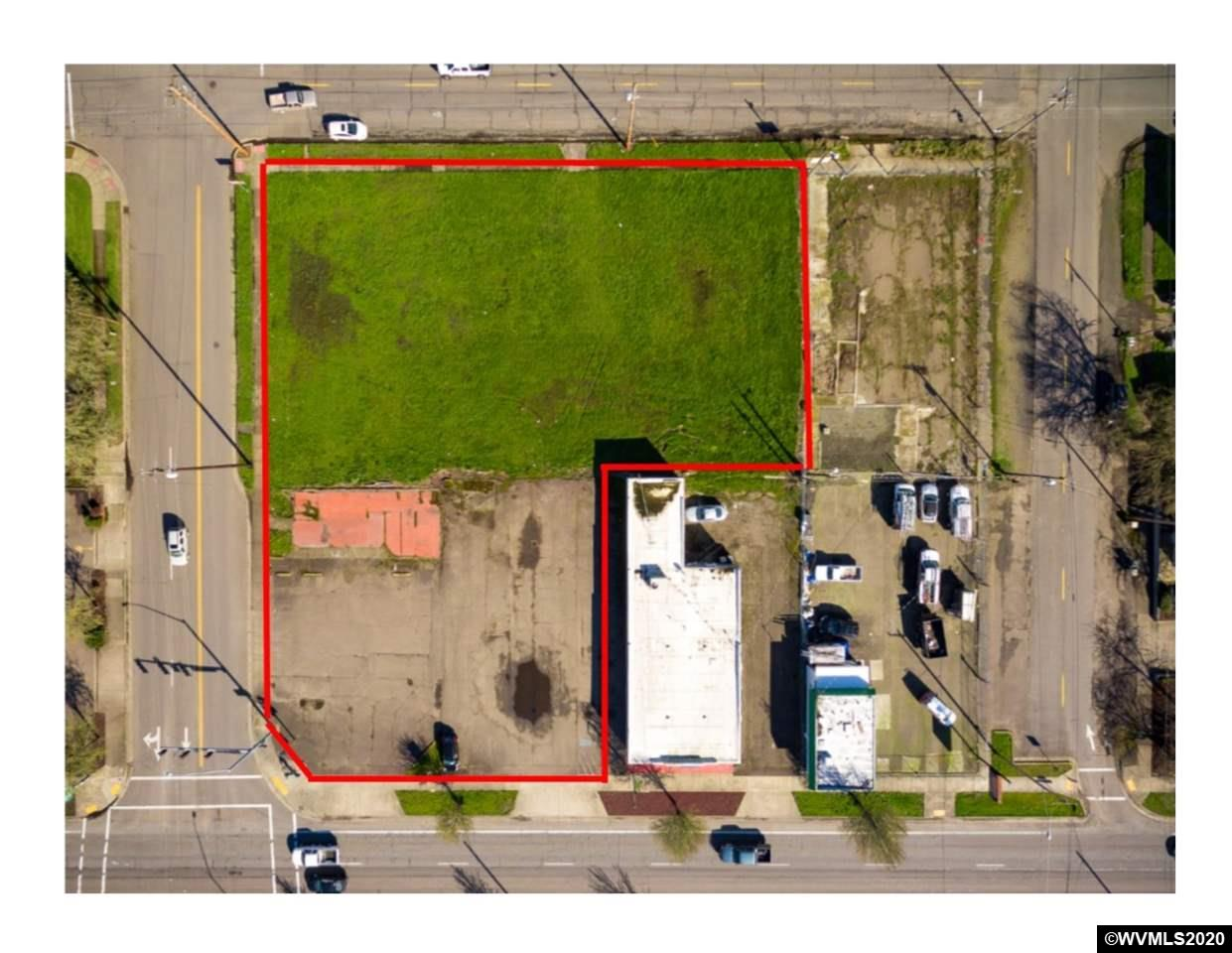 Set on a 4-way stoplight corner on one of the busiest intersections in Albany, this .85 acre parcel is shovel ready. You'll have extremely high visibility with this street to street parcel for incoming traffic to downtown, North Albany, Corvallis, OSU, LBCC and Eugene. Zoned commercial for medical, retail, office, banking, restaurant, fast food, etc. with clean Phase I & II Environmental Reports. Access off of Pacific or 7th per your business needs. Near Starbucks, Dutch Bros, Lowes, Chevron, Papa Murphy's