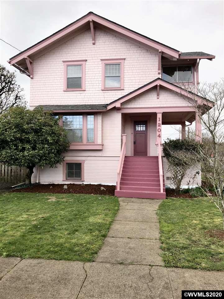 Historic charm with updates! 3 bed, 2 bath, 1812 sf, brand new roof, hardwood floors, private sun room off master bedroom, storm windows, and updated electrical. Beautiful front porch for relaxing. Large basement with 200 sf+/- partially finished. Secluded low maintenance yard and off street parking.