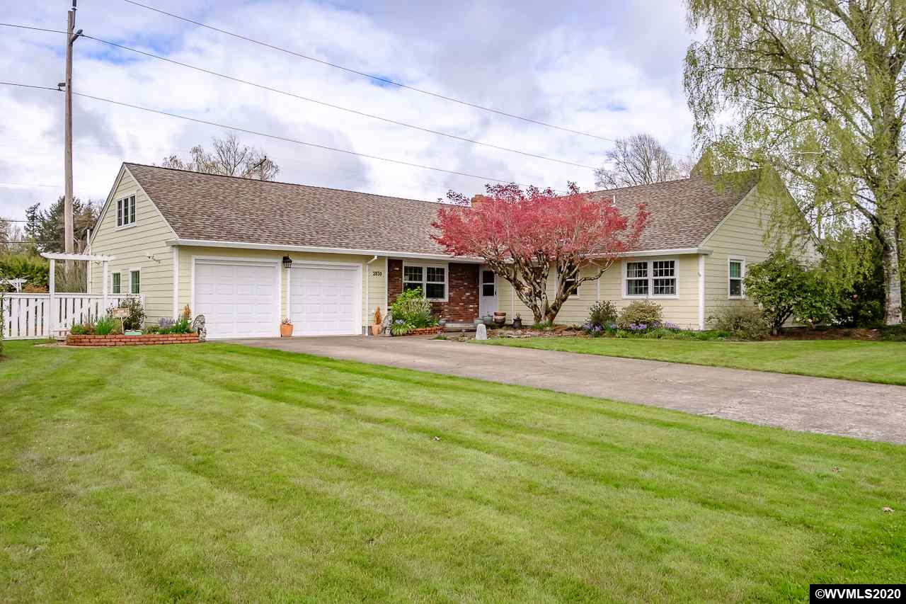 This amazing home sits on a large .48 acre lot in a highly desirable area of Albany! The home features a remodeled kitchen with quartz countertops, new backsplash, SS sink and appliances. Beautiful white oak hardwood floors, completely remodeled bathrooms, huge laundry room comes with washer/dryer, large covered patio w/ wood soffit, huge picture windows, a loft/office/bonus room upstairs, irrigation system, garden shed, giant landscaped yard, and so much more. Check out the Photos, video, and 3D tour!