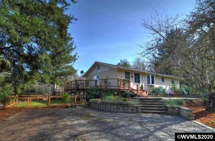 Accepted Offer with Contingencies. Lovely updated home located on a serene country road in a rural location.  Lots of natural light in the open Kitchen, dining and living areas.  Beautiful property and outdoor settings for entertaining (deck and patio), gardening (garden beds) and activities. Nice flat land with pastures. 40' x 35' barn (new siding) with two stalls and power. Plenty of room for RV parking. Fabulous neighborhood!