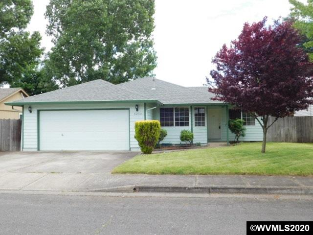Accepted Offer with Contingencies. Wonderful neighborhood of well-maintained homes! This home features an open kitchen area with bar stool seating and bright windows. Large master bedroom with walk-in closet and separate bathroom. Dedicated utility room with extra storage cabinets, large two car garage, and gas heating with AC. Patio and fully fenced yard.  Great location, close proximity to Keizer Rapids Park!