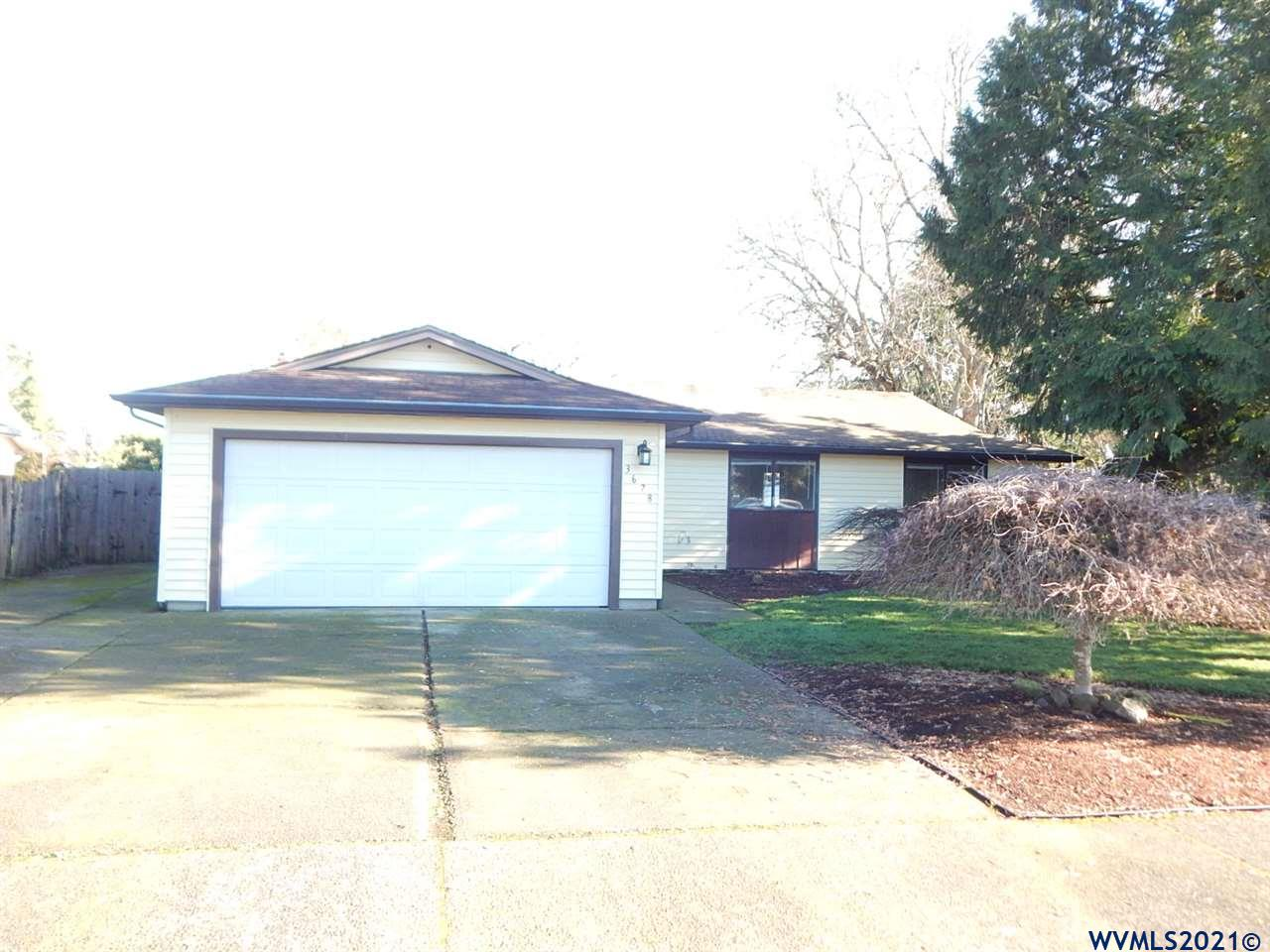 Accepted Offer with Contingencies. Nicely updated single level home in quiet subdivision.  3 large bedrooms plus an office.   100' deep lot with good sized RV parking area.  Updates include new LVP flooring, carpet, interior paint & granite counters.  Stainless steel appliances in kitchen.  Central AC.  Covered patio in the fully fenced backyard.  House is move in ready.  Near the edge of town with no through traffic.