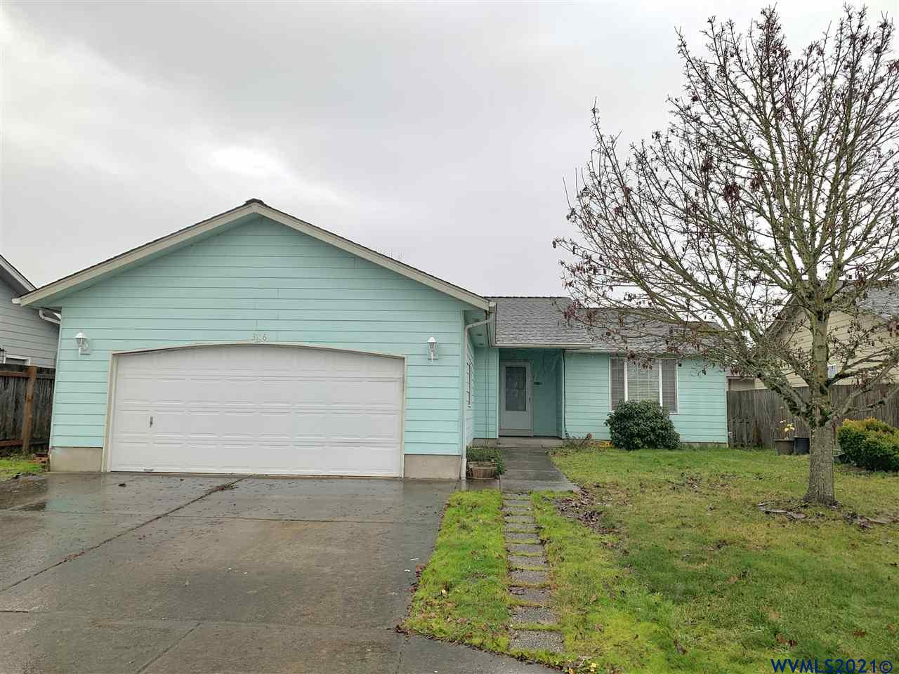 Great starter home convieniently located within walking distance to Lexington park, shopping, library and easy access to I-5.Home features beautiful laminated floor in all 3 bedrooms, living room and kitchen! No carpet in this house. All kitchen appliances included in the sale. Fully fenced back yard has a shed for additional storage.