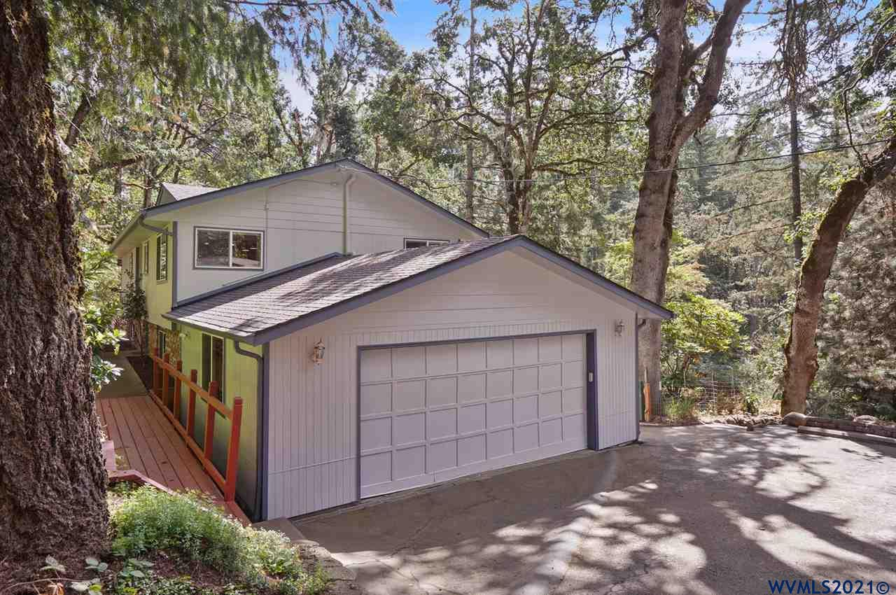 Accepted Offer with Contingencies. Room for everyone in this well kept 5 bedroom, 3 bath home on 1.17 acres.  Access to the lower portion of the lot and potential large shop location from Juntura Way.  Updated country kitchen with large pantry and eat-in are is open to upstairs living room and views.  Butcher block and quartz counter tops.  Large master suite with walk-through closet and beautiful tile mosaic floor.  Extensive new solid-surface flooring and exterior paint (2021).  Patio fire-pit overlooks the private lot.  3D Virtual Tour!